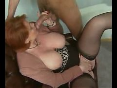 Big Tits Mature Double Penetration^7:41