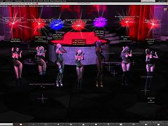 Bad Girl Metal and Rock Stripclub dancing in Second Life^0:29